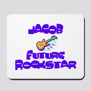 Jacob - Future Rock Star Mousepad