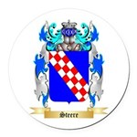 Steere Round Car Magnet
