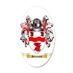 Steenson Oval Car Magnet