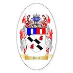 Steel Sticker (Oval 50 pk)