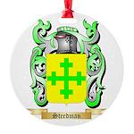 Steedman Round Ornament