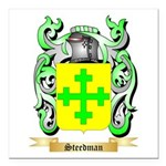 Steedman Square Car Magnet 3