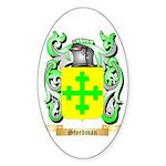 Steedman Sticker (Oval)