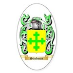 Steedman Sticker (Oval 50 pk)