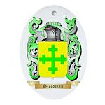 Steedman Oval Ornament