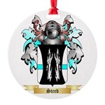 Steed Round Ornament