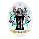 Steed Oval Ornament