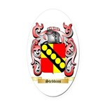 Stebbins Oval Car Magnet