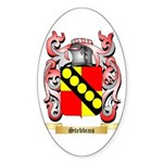 Stebbins Sticker (Oval 50 pk)