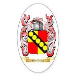Stebbing Sticker (Oval 50 pk)