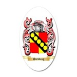 Stebbing 20x12 Oval Wall Decal