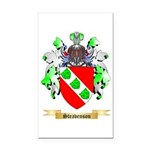 Steavenson Rectangle Car Magnet