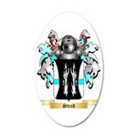 Stead 35x21 Oval Wall Decal