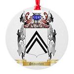 Staunton Round Ornament