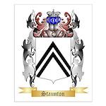 Staunton Small Poster