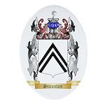 Staunton Oval Ornament