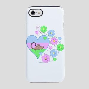 Fun Rat Heart iPhone 8/7 Tough Case