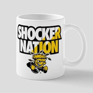 Wichita State Shocker Nation 11 oz Ceramic Mug