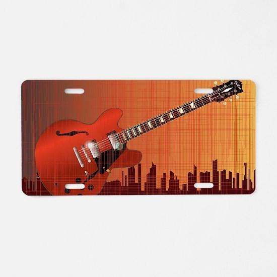 Gibson Aluminum License Plate