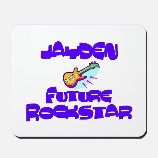Jayden - Future Rock Star Mousepad