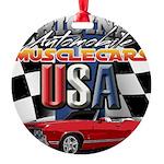 usa musclecars Ornament