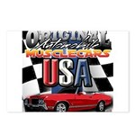 usa musclecars Postcards (Package of 8)