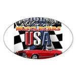 usa musclecars Sticker