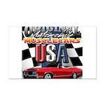 usa musclecars Rectangle Car Magnet