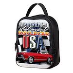 usa musclecars Neoprene Lunch Bag