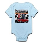 usa musclecars Body Suit