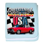 usa musclecars baby blanket