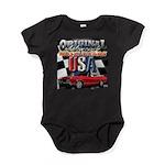 usa musclecars Baby Bodysuit