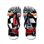 usa musclecars Flip Flops