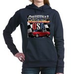 usa musclecars Women's Hooded Sweatshirt
