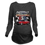 usa musclecars Long Sleeve Maternity T-Shirt