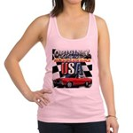 usa musclecars Racerback Tank Top