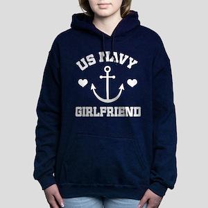 U.S. Navy Girlfriend gift Women's Hooded Sweatshir