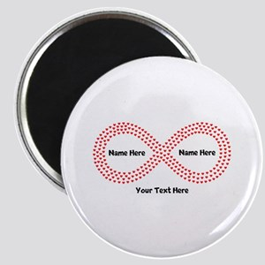 Infinity Symbol Personalized Magnet