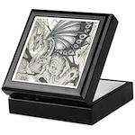 Fairy Dragon Drawing Keepsake Box