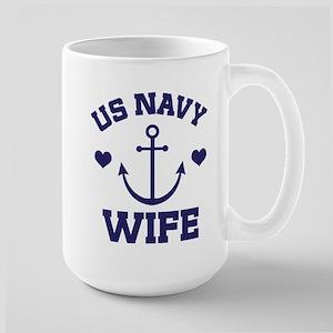US NAVY Wife Mugs