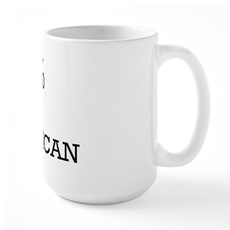 50% Puerto Rican Large Mug