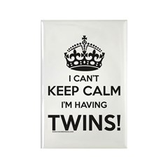 Expecting Twins Magnet Announcement Set Magnets