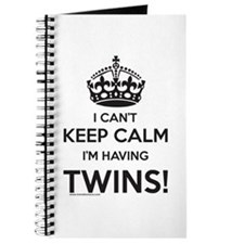 I Can't Keep Calm - Twin Pregnancy Journal