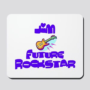 Jim - Future Rock Star Mousepad