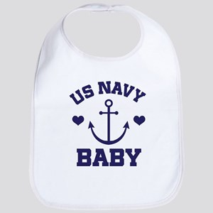 US Navy Baby Bib