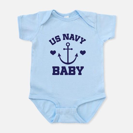 US Navy Baby Body Suit
