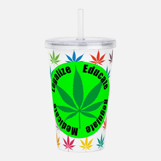 Legalize Acrylic Double-wall Tumbler