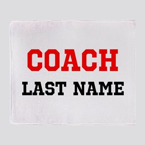 Coach Throw Blanket