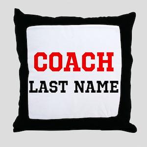 Coach Throw Pillow