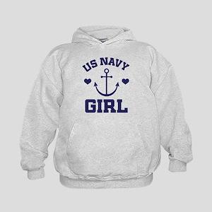 US Navy Girl Hoodie